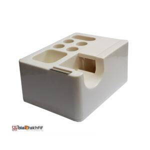 پایه چسب 1000 نوین وسلیهای برای تکه کردن چسب است و حلقهٔ چسب نواری را نگه میدارد.خرید پایه چسب 1000 نوین با قیمت مناسب در سایت بیاتوتخفیف.