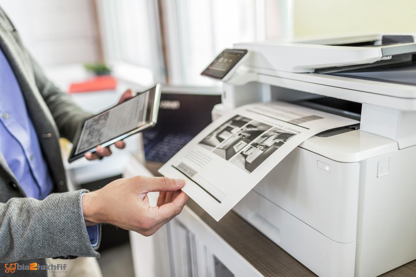 نوع چاپ در پرینتر چندکاره لیزری LaserJet Pro MFP M426fdw اچ پی تک رنگ بوده و بهترین گزینه برای چاپ اسناد متنی است.bia2takhfif
