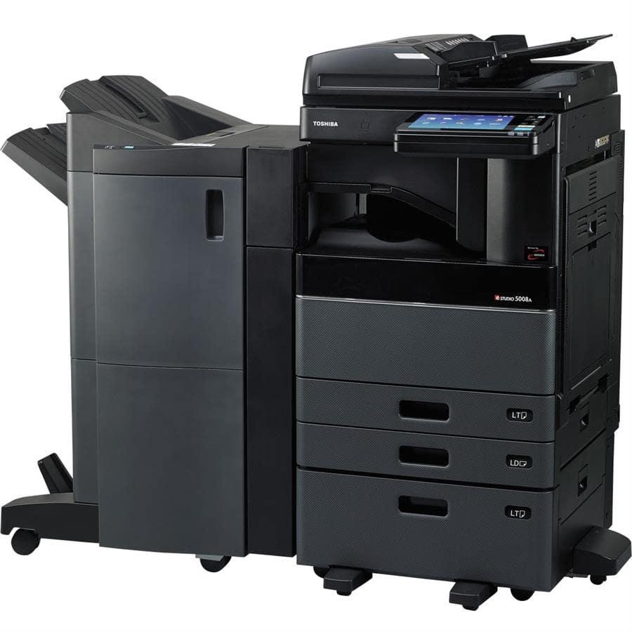 دستگاه کپی e-STUDIO 4508A توشیبا محصولی از شرکت «توشیبا» (Toshiba) است که علاوه بر چاپ، قابلیت اسکن و کپی نیز دارد و به همین دلیل برای مصارف اداری و انتشارات گزینهی مناسب و ایدهئالی محسوب میشود