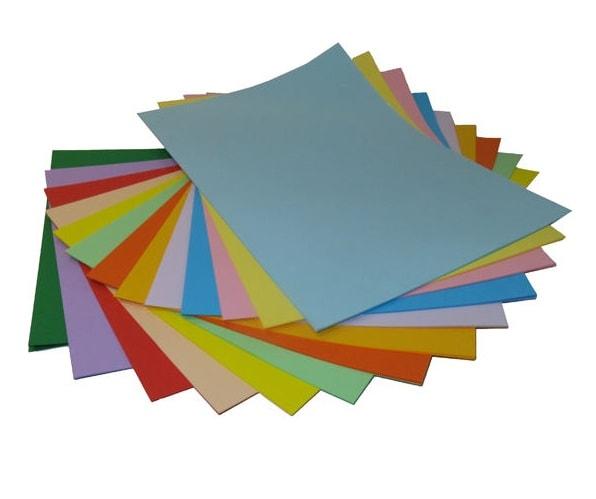 کاغذهای رنگی با رنگ متنوع و زیبا در سایت بیاتوتخفیف