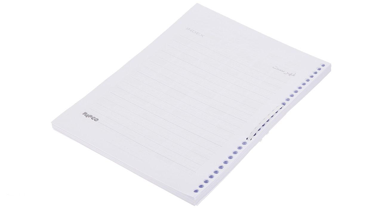کاغذ کلاسوری با سوراخ های مختلف در بیاتوتخفیف