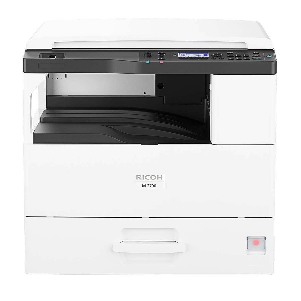 دستگاه کپی چندکاره M2700 ریکو محصول شرکت «ریکو» (Ricoh) است ، این شرکت همواره در زمینه چاپ و کپی یکی از بهترین گزینه های بازار محسوب میشود.bia2takhfif