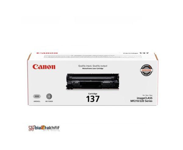 """کارتریج تونر مشکی 137 کانن از تونرهای لیزری شرکت """" CANON """" میباشد. هر کارتریج دارای قطعات ، درام کارتریج ،چیپست کارتریج ، مگنت کارتریج و فوم کارتریج است ."""