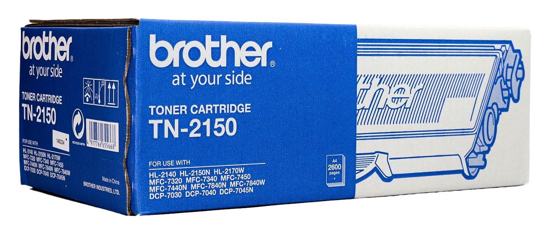 """کارتریج تونر مشکی TN-2150 برادر از تونرهای لیزری شرکت """" Brother """" میباشد. هر کارتریج دارای قطعات ، درام کارتریج ،چیپست کارتریج ، مگنت و فوم کارتریج است ."""