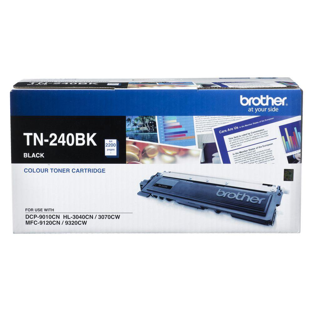 """کیت کارتریج تونر TN-240BK برادر از تونرهای لیزری شرکت """" Brother """" میباشد. هر کارتریج دارای قطعات ، درام کارتریج ،چیپست کارتریج ، مگنت و فوم کارتریج است ."""