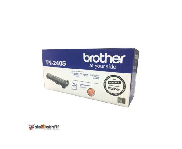 """کارتریج تونر مشکی TN-2405 برادر از تونرهای لیزری شرکت """" Brother """" میباشد. هر کارتریج دارای قطعات ، درام کارتریج ،چیپست کارتریج ، مگنت و فوم کارتریج است ."""