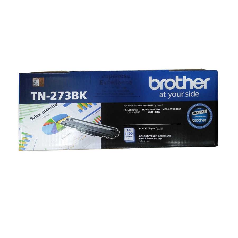 """کیت کارتریج تونر TN-273BK برادر از تونرهای لیزری شرکت """" Brother """" میباشد. هر کارتریج دارای قطعات ، درام کارتریج ،چیپست کارتریج ، مگنت و فوم کارتریج است ."""