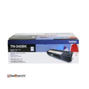 """کارتریج تونر مشکی TN-340BK برادر از تونرهای لیزری شرکت """" Brother """" میباشد. هر کارتریج دارای قطعات ، درام کارتریج ،چیپست کارتریج ، مگنت و فوم کارتریج است ."""