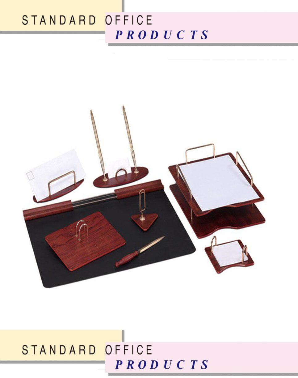 ست رومیزی اداری مدیریتی کد 104 ،لوازم اداری رومیزی که در طراح ها ی متنوع در سایت بیاتوتخفیف وجود دارد به شما کمک می کند تا میز کاری زیبایی داشته باشید.