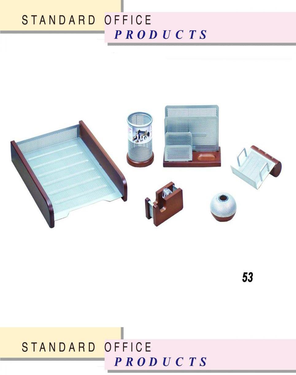 ست رومیزی اداری مدیریتی کد 53 ،لوازم اداری رومیزی که در انواع طراح های متنوع در سایت بیاتوتخفیف وجود دارد به شما کمک می کند تا میز کاری زیبایی داشته باشید.