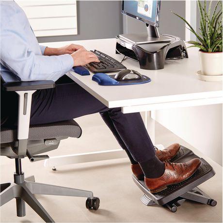 زیر پایی متحرک اداری فرنام یکی از محصولاتی است که به نحوه صحیح نشستن کمک می کند است. این وسیله در شکل های گوناگون در سایت بیاتوتخفیف عرضه می شوند.