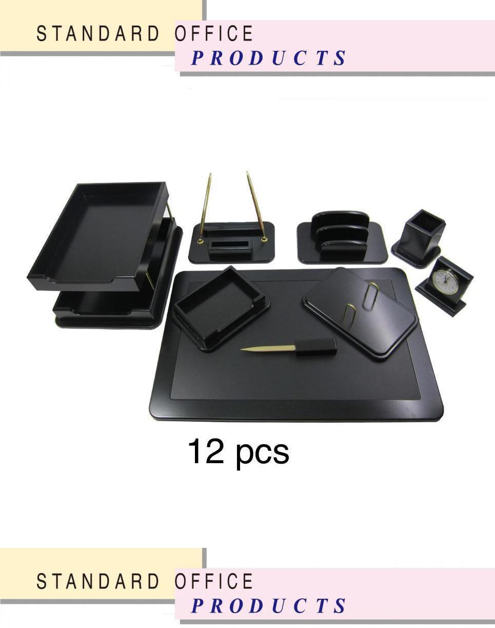 ست رومیزی مدیریتی میلانو کد 107d ،لوازم اداری رومیزی که در انواع گوناگون در سایت بیاتوتخفیف وجود دارد به شما کمک می کند تا میز کاری زیبایی داشته باشید.
