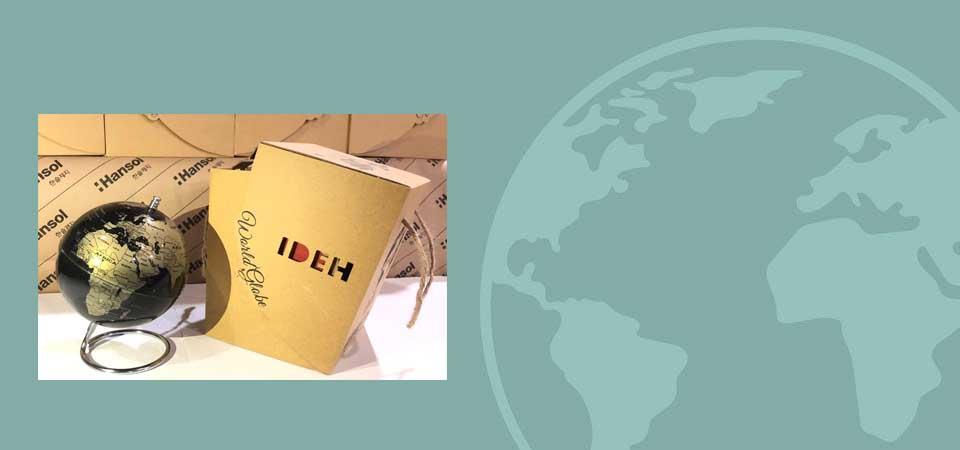 کره جغرافیایی پایه فلزی کد115