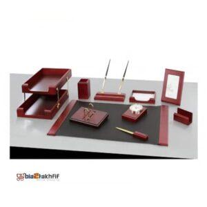 ست رومیزی 12تکه بستار کد259 ،لوازم اداری رومیزی که در انواع گوناگون در سایت بیاتوتخفیف وجود دارد به شما کمک می کند تا میز کاری زیبایی داشته باشید.