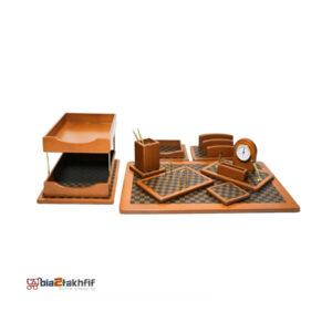 ست رومیزی مدل خاتم کد 108w ،لوازم اداری رومیزی که در انواع گوناگون در سایت بیاتوتخفیف وجود دارد به شما کمک می کند تا میز کاری زیبایی داشته باشید.