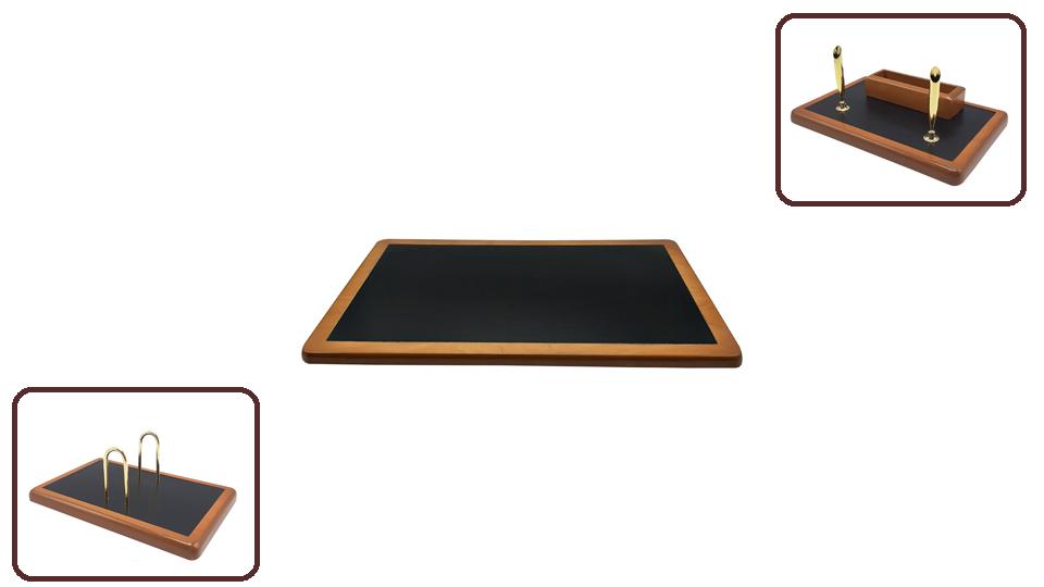ست رومیزی مدیریتی مدل AB ،لوازم اداری رومیزی که در سایت بیاتوتخفیف وجود دارد به شما کمک می کند تا میز کاری زیبایی داشته باشید.