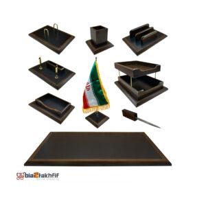 ست رومیزی مدیریتی VBN100 ،لوازم اداری رومیزی در سایت بیاتوتخفیف وجود دارد به شما کمک می کند تا میز کاری زیبایی داشته باشید.