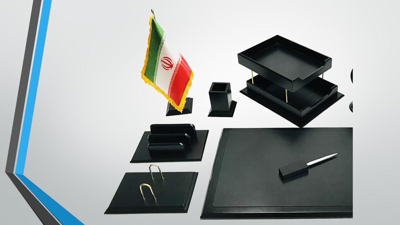 ست رومیزی مدیریتی 11تکه کد MW-119 ،لوازم اداری رومیزی که در انواع گوناگون و طراح ها ی متنوع در سایت بیاتوتخفیف وجود دارد به شما کمک می کند تا میز کاری زیبایی داشته باشید.