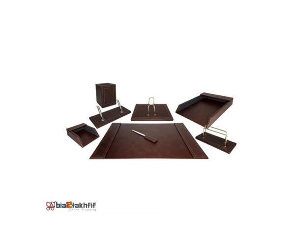 ست رومیزی چرمی 8تکه کد903 ،لوازم اداری رومیزی در سایت بیاتوتخفیف وجود دارد به شما کمک می کند تا میز کاری زیبایی داشته باشید.